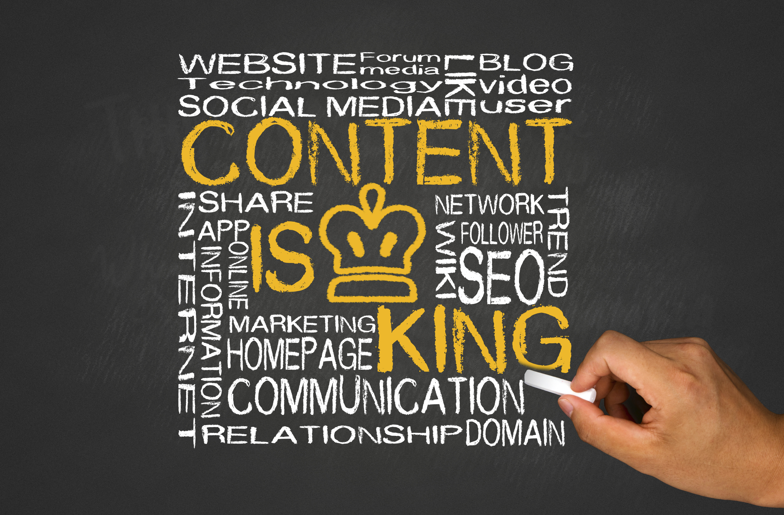 Website content audit beasley direct online marketing content is king baditri Gallery