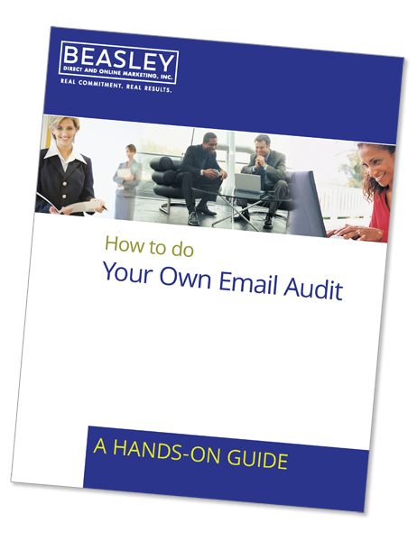 Email Deliverability Audit Cover Page