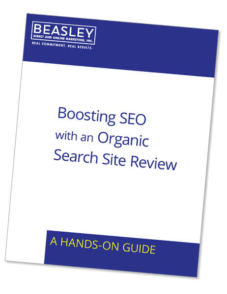 organic website review cover