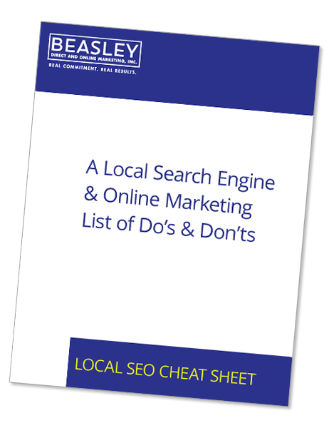 Local Search Engine & Online Marketing Cheat Sheet