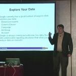 John Thyfault teaching at a DMA workshop - Digging into PPC data