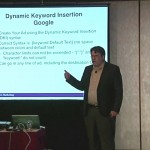 John Thyfault teaching at a DMA workshop - Dynamic keyword insertion