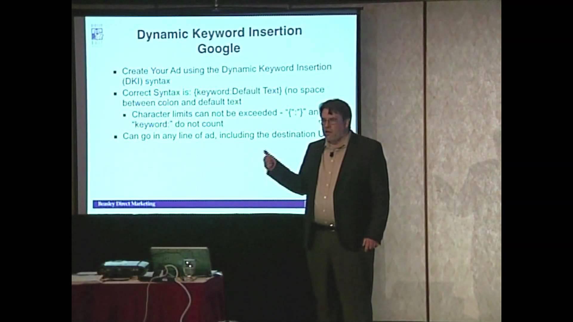 Dynamic Keyword Insertion in PPC Ads