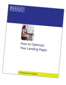 optimized landing pages