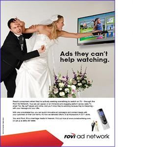 Print Ad Design for Rovi