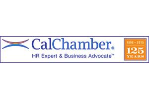 Cal Chamber logo. Beasley is their SEO Company.