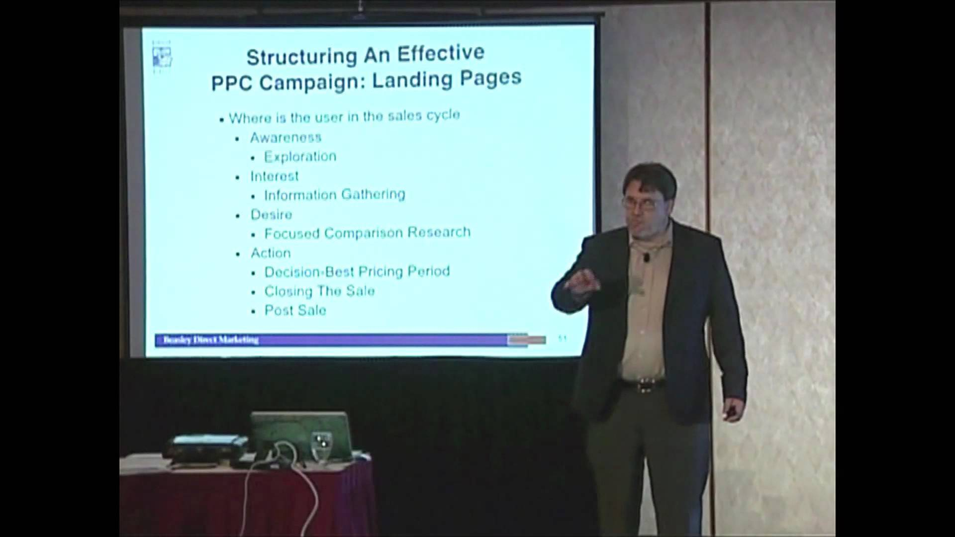 PPC Landing Pages and User Profiles