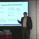 John Thyfault teaching at a DMA workshop - PPC targeting the right customer with ad extensions