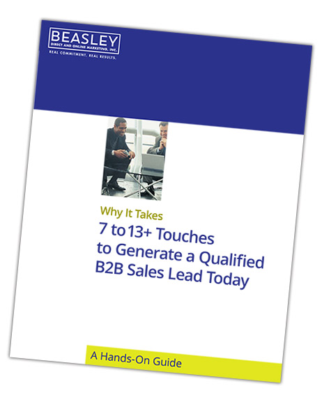 Read our Guide: Why it Takes 7-13 Touches to Generate a Qualified B2B Sales Lead