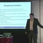 John Thyfault teaching at a DMA workshop - Remarketing PPC campaigns