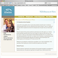 VCA Specialty Veterinarians