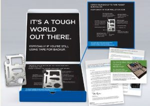 Direct Mail lead gen client collateral.