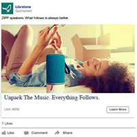 Libratone Facebook Ad Developer Client