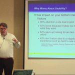 Web usability training video.