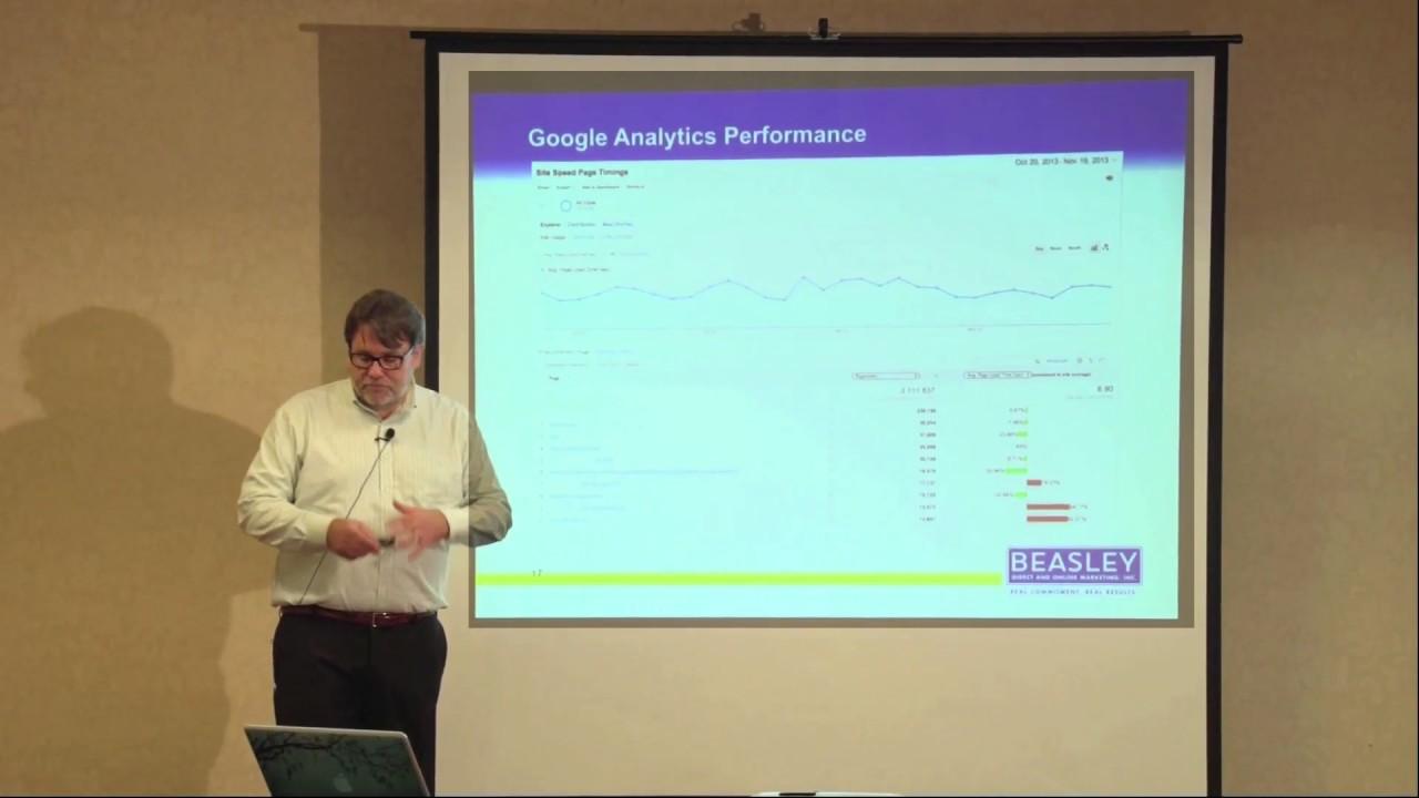 Using Google Analytics to Understand Site Performance