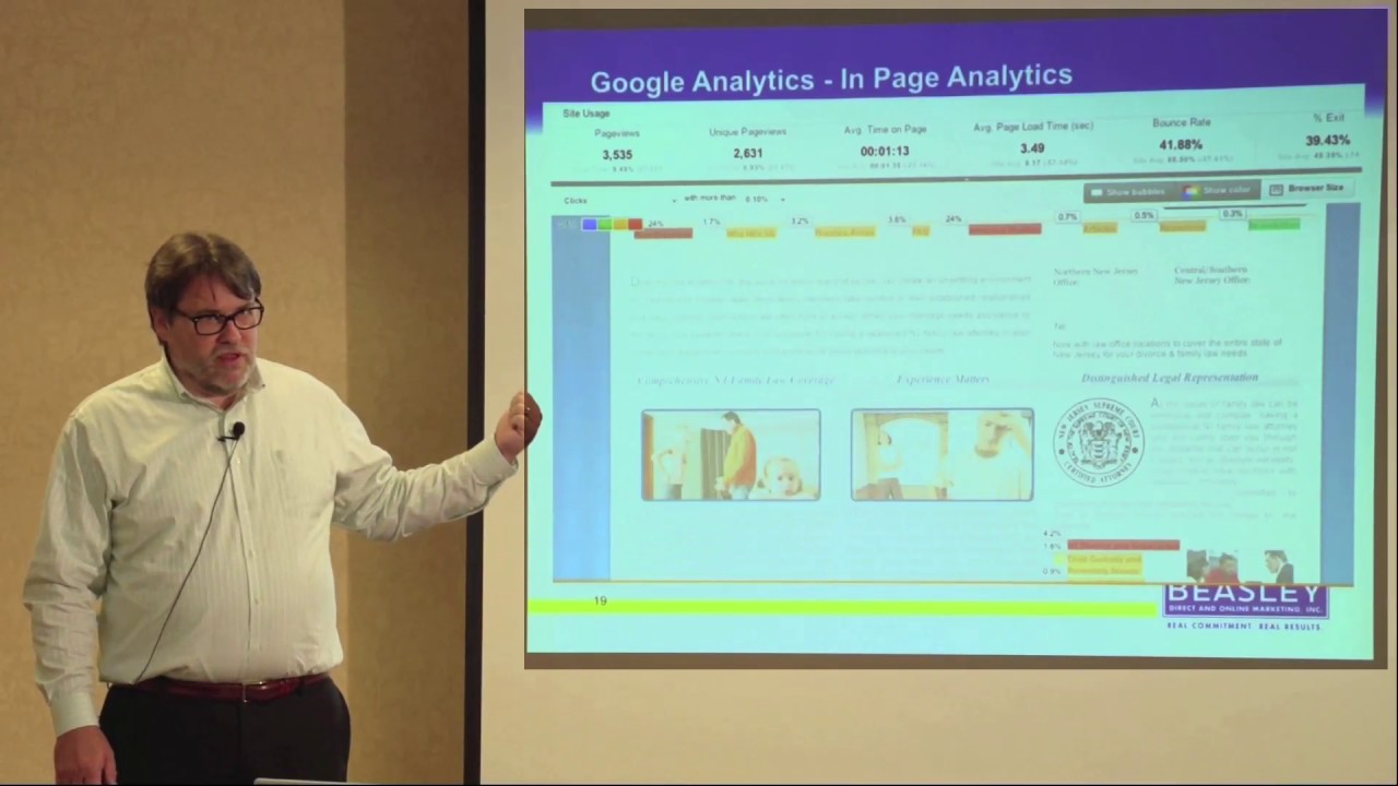 Using In-Page Analytics to Understand How Your Visitor is Interacting within Your Site