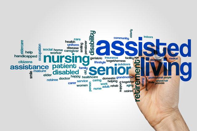Healthcare Marketing keywords and key phrases illustration