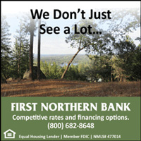 First Northern Bank display ad showing farm.