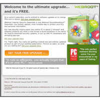 WebRoot collateral request form.