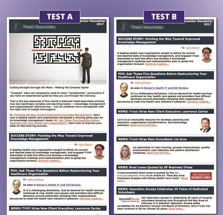 email newsletter template design beasley direct and online marketing