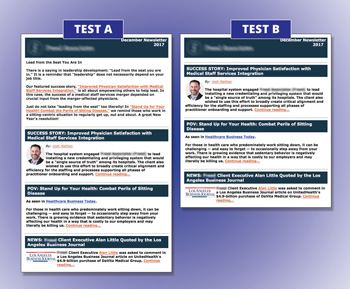Five Big Things We Learned Through Extensive Testing on a B2B Client's Email Newsletter Template
