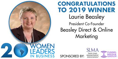 SLMA Top 20 Women in Business leaders winner Laurie Beasley