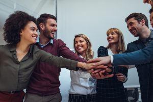 Marketing and Web Development teams uniting to work together