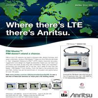 Print Ad for Anritsu LTE thumbnail.