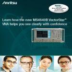 Anritsu VectorStar brochure small size for ad campaign.