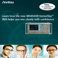 Anritsu VectorStar brochure small size for ad campaign.